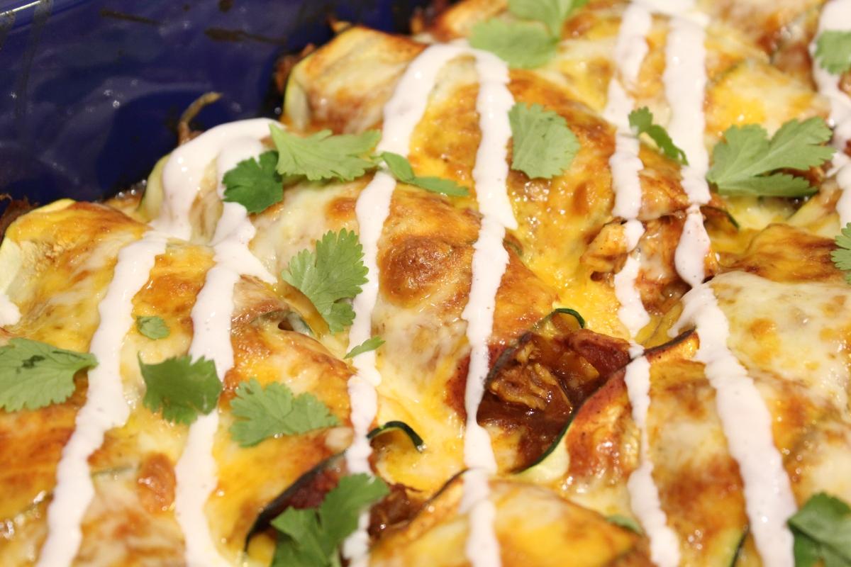 Blue apron zucchini enchilada - Zucchini Enchiladas